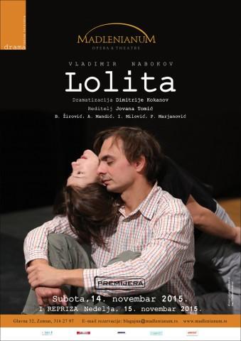 """Premijera predstave """"Lolita"""" !"""