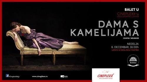 "Balet ""Dama s kamelijama"" u bioskopu Cineplexx"