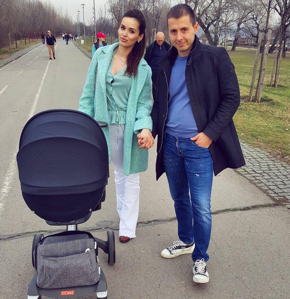 Nemanja Staletović:Prve fotke sa kćerkom Lorenom!