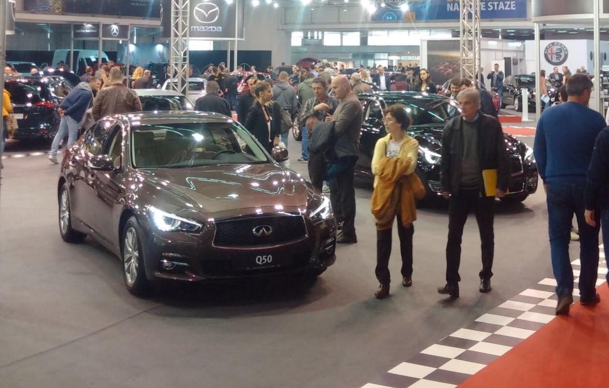 Veliko interesovanje za Ford, Infiniti i Volvo na sajmu automobila