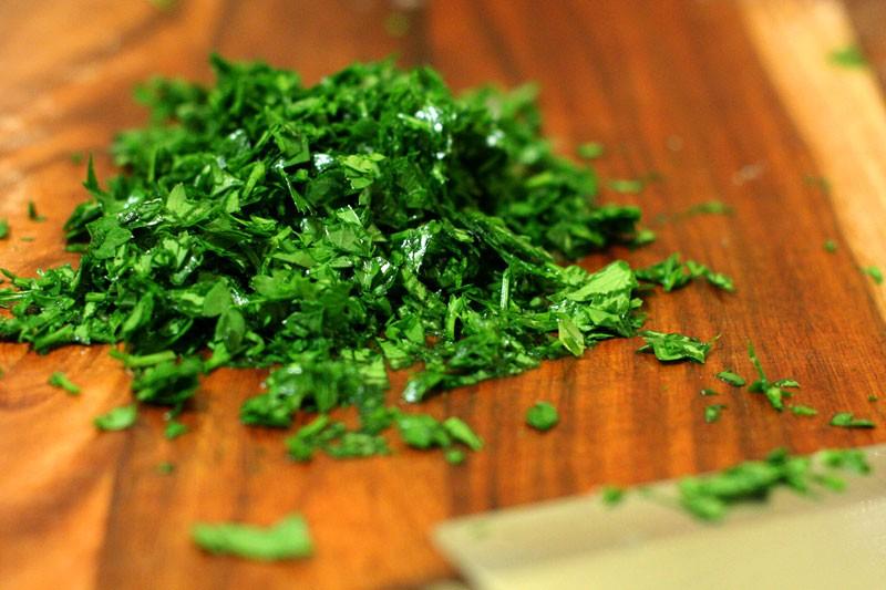 parsley-chopped
