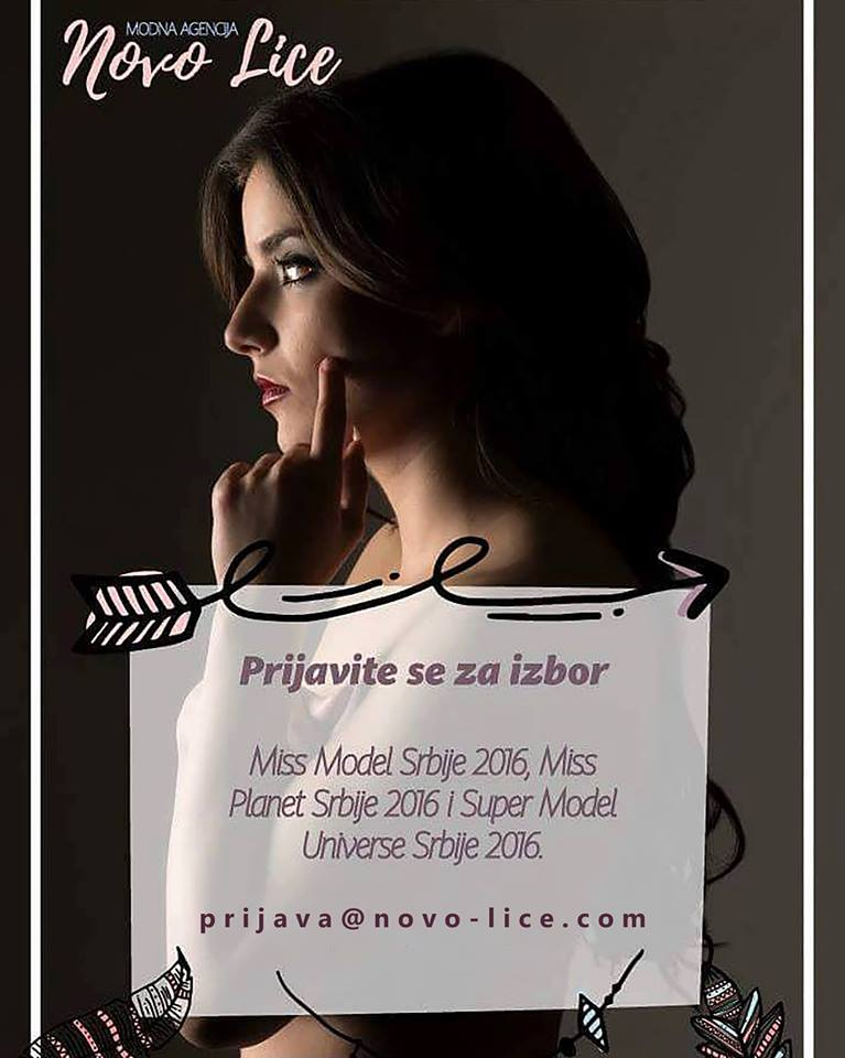 Postanite nova Miss Model Srbije 2016
