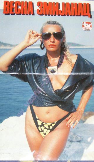 Vesna Zmijanac je prva pevačica koja je pokazala gole grudi