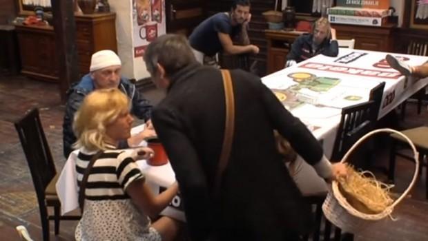 Jelenu i Lepog Miću razdvajalo obezbeđenje na pijaci (VIDEO)