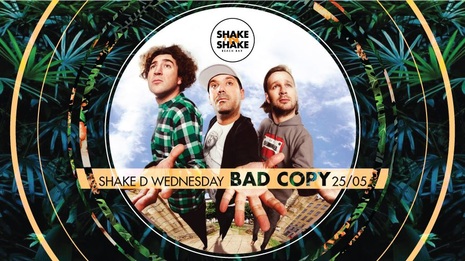 Bad Copy na splavu Shake`N`Shake