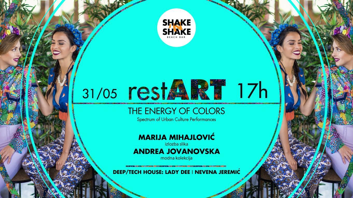restART - The energy of colors na Shake 'n' Shake