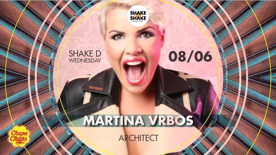 Martina Vrbos promoviše singl na ShakeNshake-u!