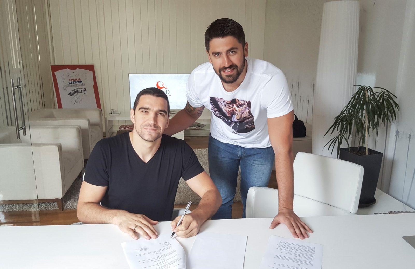 Gojko Pjetlović potpisao ugovor sa agencijom WIND SPORT