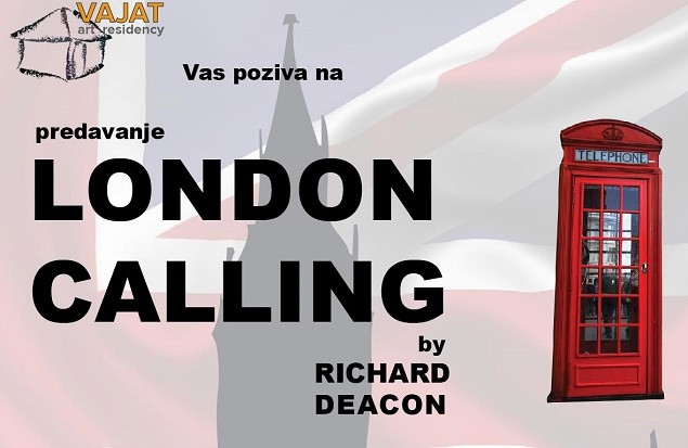 """Predavanje Ričarda Dikona """"London Calling"""" u dvorani Kulturnog centra Beograda"""