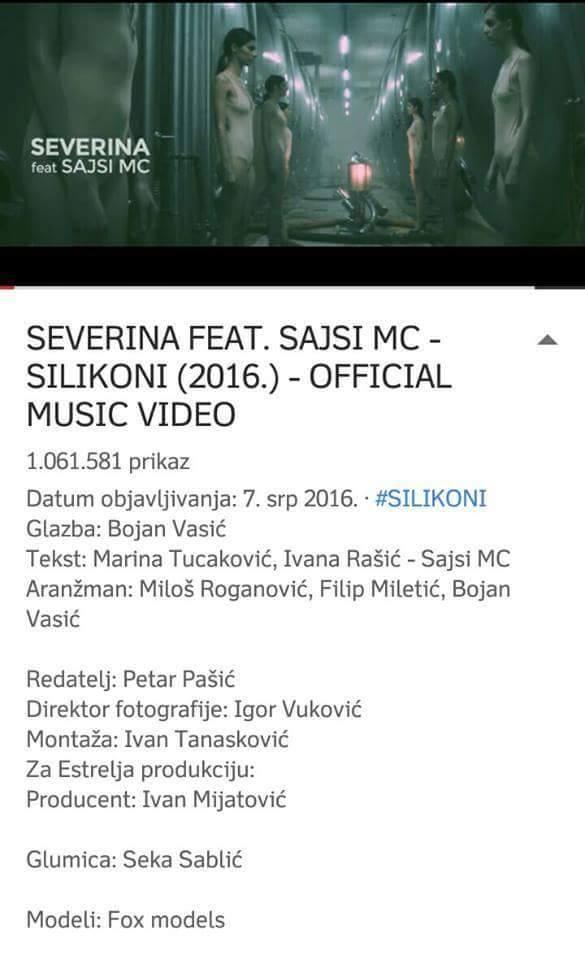 Severina Vučković kaska za Mayom Berović!