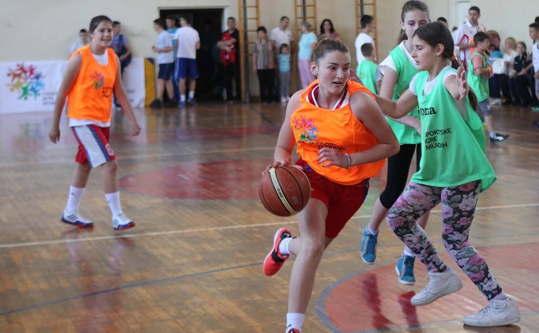 Državno finale Sportskih igara mladih u Beogradu