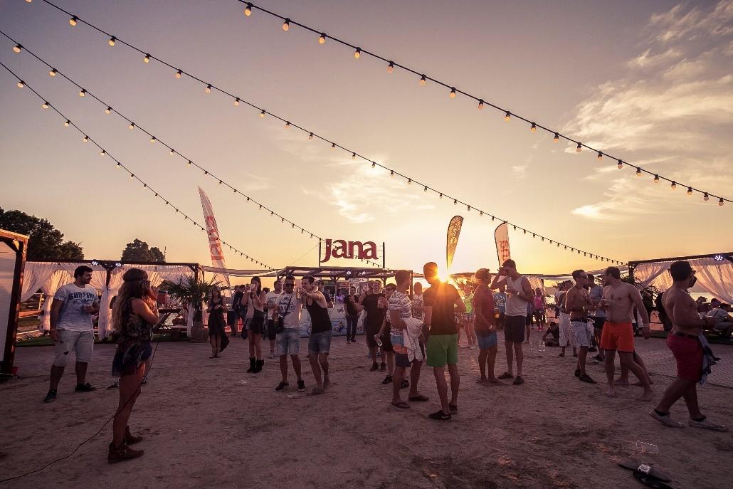 Jana voda na Balaton Sound festivalu