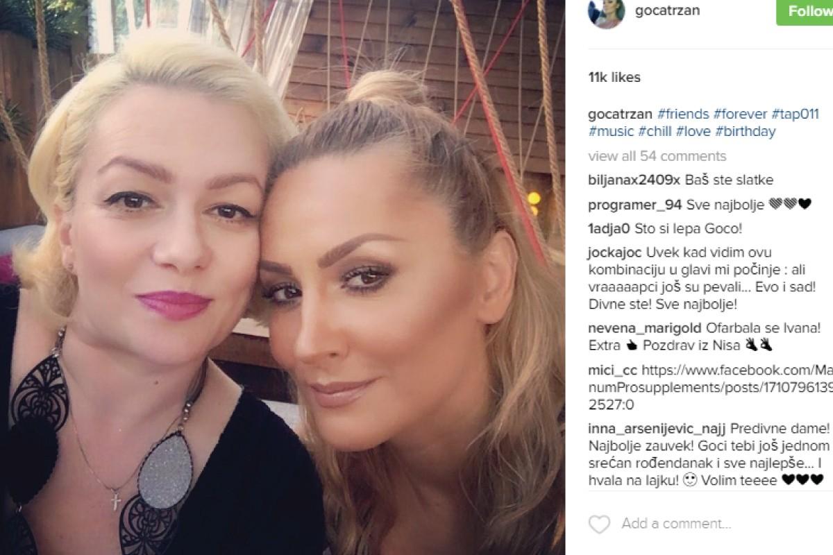 """Ovo je najbolje prijateljstvo na srpskoj estradi! Goca i Ivana """"Tap 011"""""""