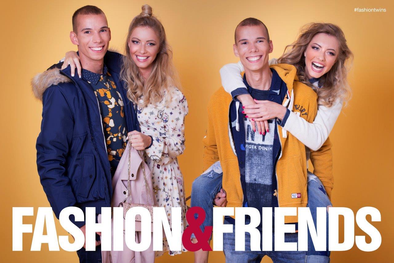 """FASHION & FRIENDS predstavio kampanju za jesen 2016.  """"Fashion Twins"""""""