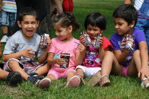 Kompanija Imlek i Almex organizovali obilazak za decu