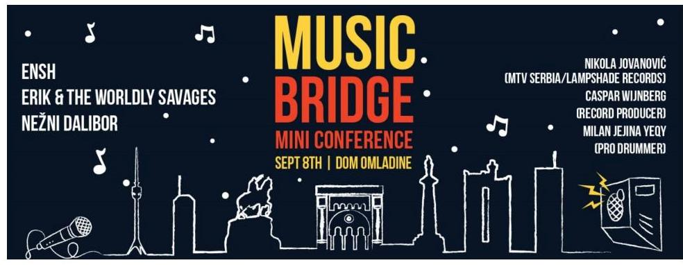 Music Bridge konferencija po prvi put u Beogradu!