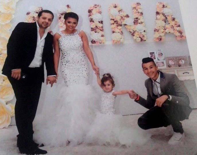 Emir Habibović ponosno proslavio prvi rođendan kćerkice Aline!
