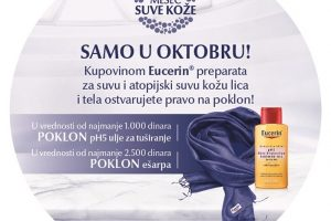 Oporavite svoju kožu uz specijalne Eucerin® poklone!