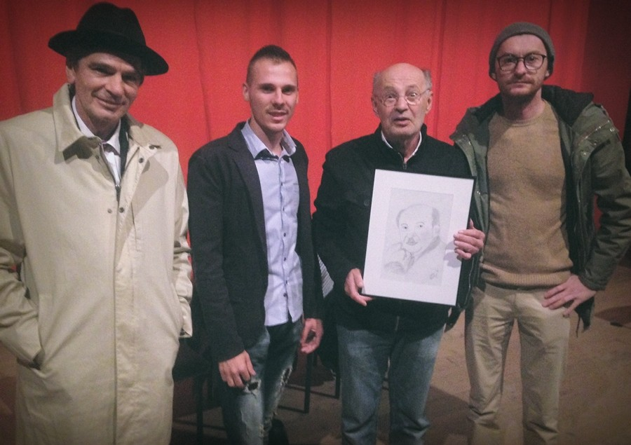 Goran Pašalija poklonio portret glumcu Mustafi Nadareviću!