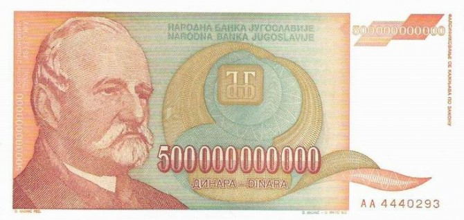 Novčanice sa najviše nula u istoriji sveta