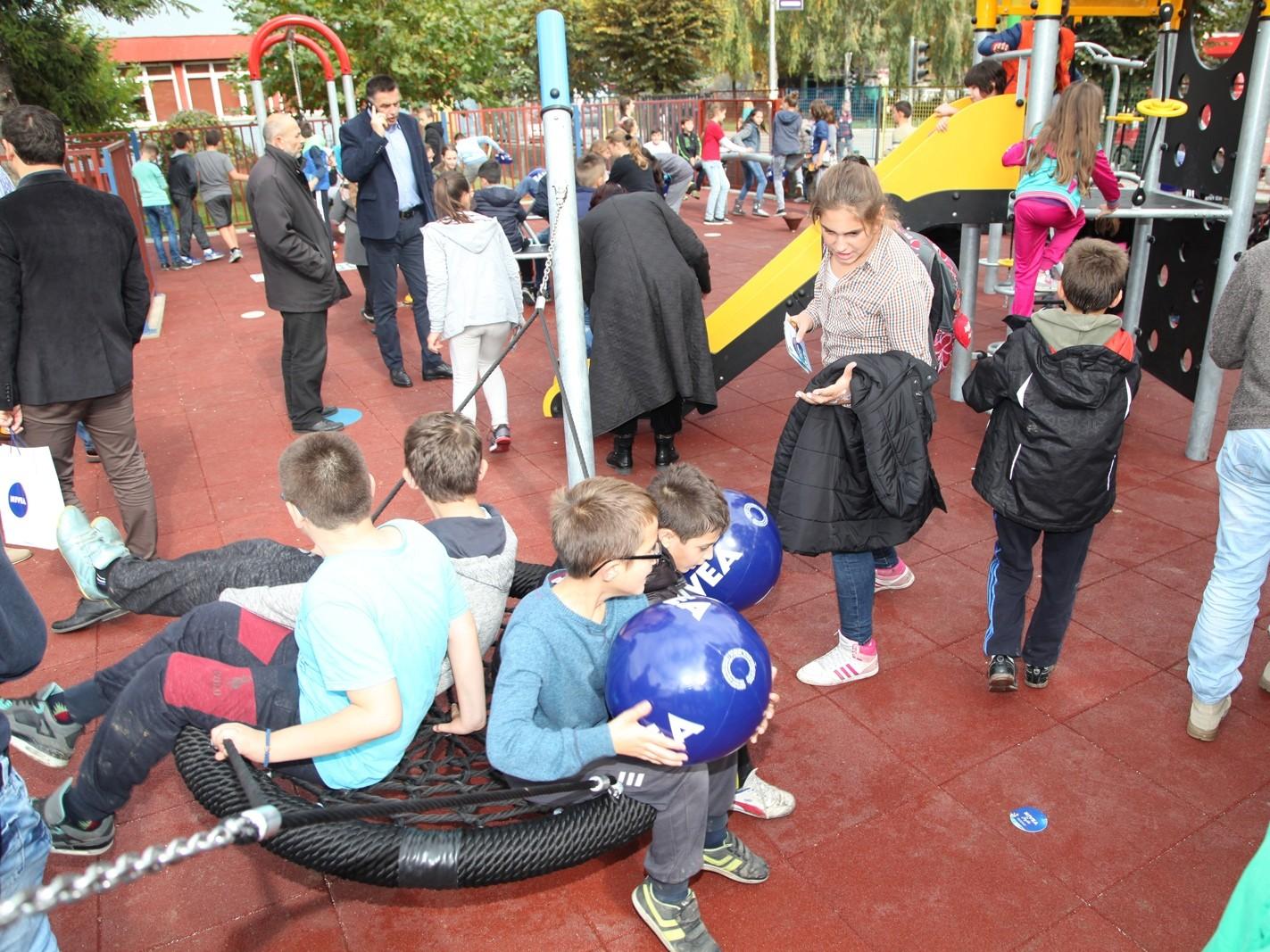 Mališani u Novom Pazaru dobili novo igralište
