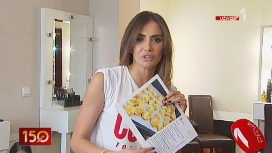 Evo šta doručkuje Emina Jahović, i kako priprema obrok! (VIDEO)