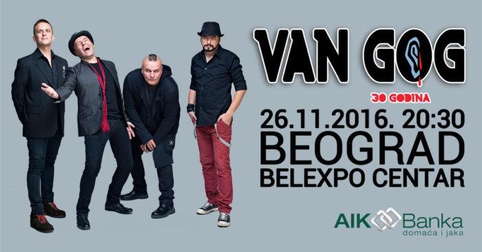 AIK Banka na predstojećem jubileju rok sastava Van Gogh!