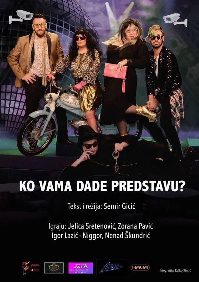 """Predstava i emisija """"Ko vama dade predstavu?"""" za publiku u Švedskoj!"""