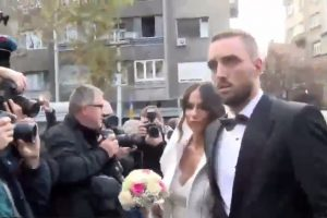 Ženi se Troicki: Mladoženja besan, urlao ispred crkve! (foto)
