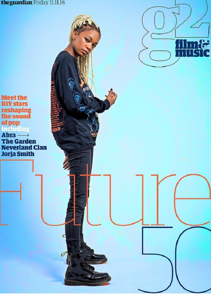 Uticajni magazin The Guardian proglasio je ABRU za najuzbudljiviju mladu umetnicu