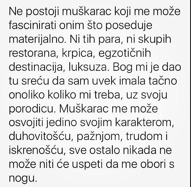 Anastasija Ražnatović otkrila kakvog muškarca želi u svom životu!