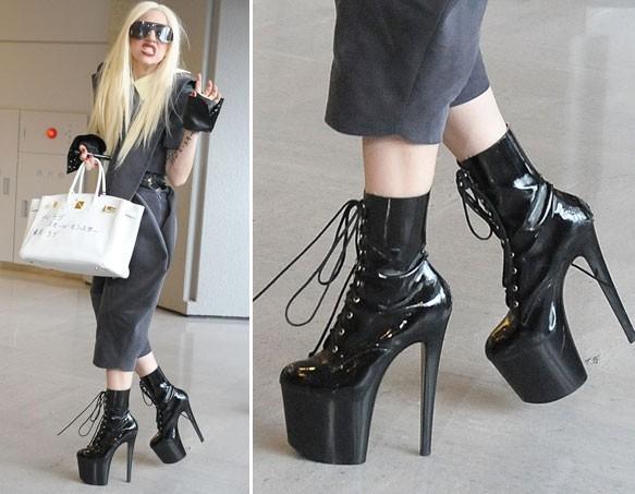 DIDI J u vrtoglavim potpeticama od 17 centimetara! Lady Gaga ili Didi J - koja nosi veće potpetice?!