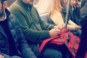 """Zvezda popularne serije """"Seks i grad"""" - """"Zverka"""" (Mr.Big) u metrou!"""