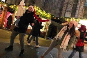 Ana i Darko Lazić uživaju sa svojom mezimicom u Beču!