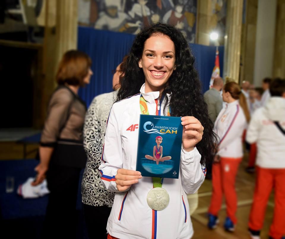 """Predstavljamo vam fenomenalnu knjigu Silvije Otašević koja će ohrabriti svako dete da prati svoje snove - """"Olimpijski san""""."""