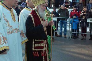 Patrijarh Irinej služio liturgiju u Sabornoj crkvi