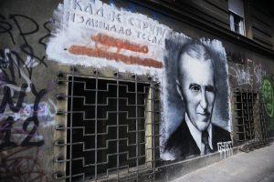 Zanimljiva ulična umetnost privlači sve više turista u Beogradu.