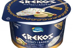 Novi ukus Grekos jogurta – pistaći i badem