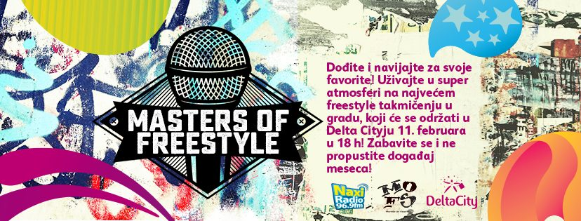 "Domaći rep turnir "" Masters Of Freestyle "" treći put u Delta City-u"