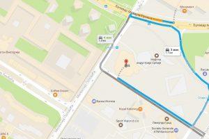 Novina u Google mapama