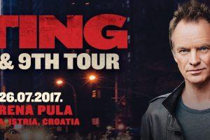 U tri dana rasprodate sve VIP ulaznice za koncert Stinga!