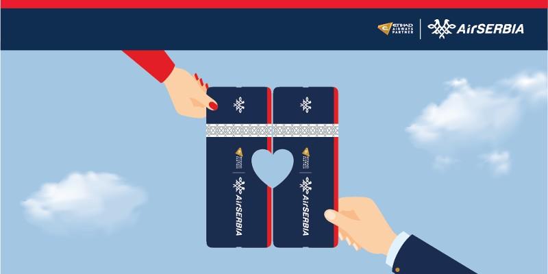 AIR SERBIA : SPECIJALNA PONUDA ZA DAN ZALJUBLJENIH!