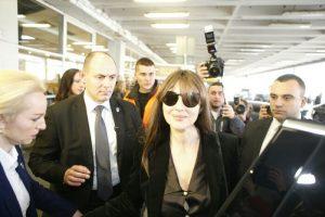 Monika Beluči stigla u Beograd! (FOTO + VIDEO)