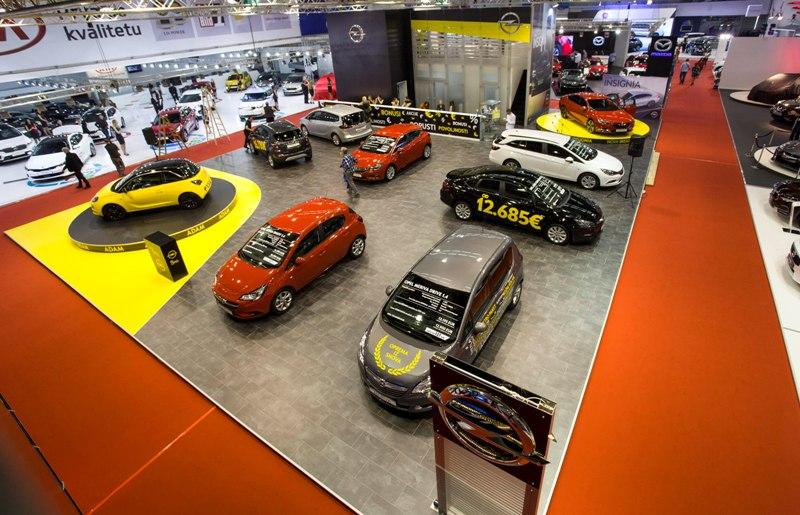 Otvaranje Opelovog štanda i domaća premijera nove Opel Insignije Grand Sport