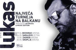 """Karte za ,,Najveću turneju na Balkanu"""" od danas u prodaji"""
