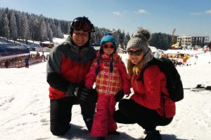 Ana Pendić sa porodicom uživa na Kopaoniku