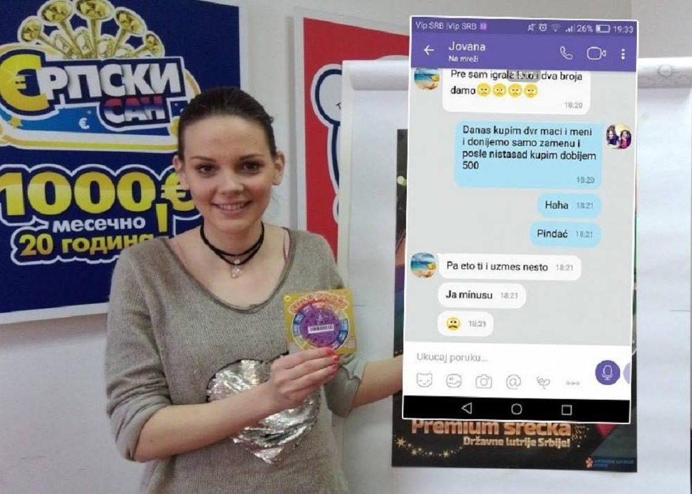 (FOTO SMS) GREB-SREĆKA POSVAĐALA KOLEGINICE, A SAD SE KLUPKO ODMOTAVA: SMS otkriva njihov DOGOVOR!