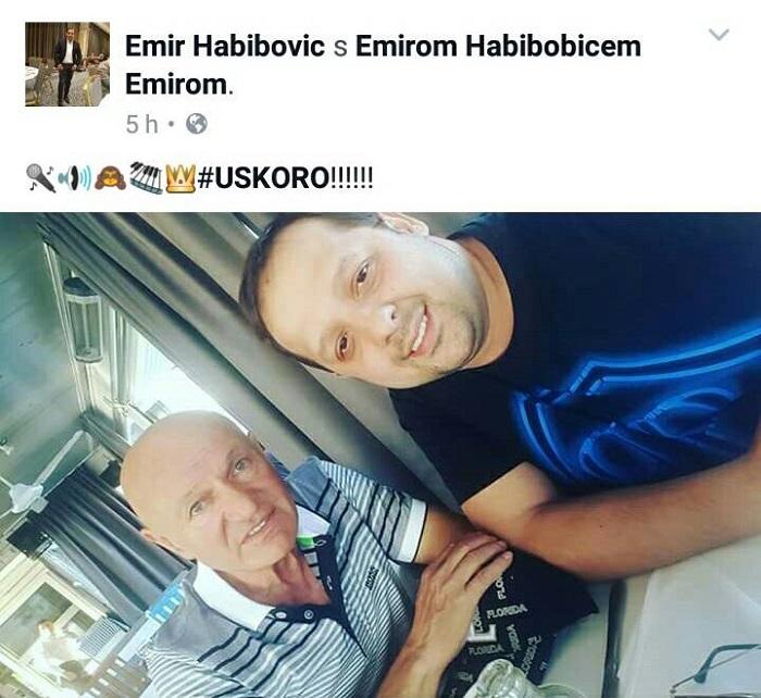 KRALJ PIŠE ZA CARA : Šaban Šaulić piše dve pesme za Emira Habibovića!