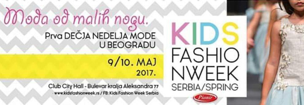 PRVI PIONIR KIDS FASHION WEEK U BEOGRADU!