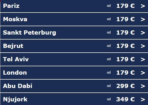 Super onlajn promocija Air Serbia!